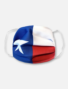 Texas Tech Red Raiders Texas Flag Face Mask