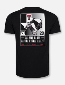 Texas Tech Red Raiders 2020 Official Wreck 'Em Tech Game Day BLACK T-Shirt