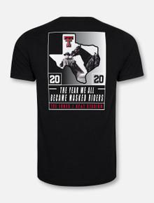 Texas Tech Red Raiders 2020 Official Wreck 'Em Tech Game Day BLACK T-Shirt
