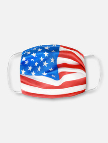 Texas Tech Red Raiders American Flag Face Mask