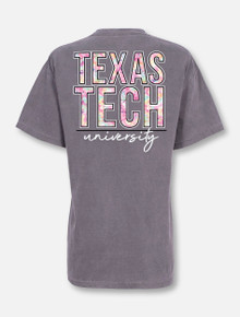 Texas Tech Red Raiders Stack in Tie Dye T-Shirt