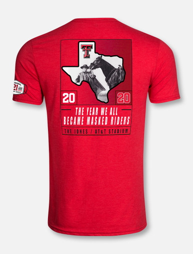 Texas Tech Red Raiders 2020 Official Wreck 'Em Tech Game Day RED T-Shirt