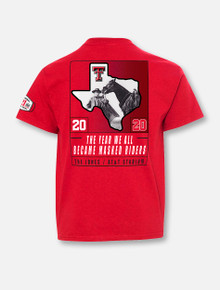 YOUTH Texas Tech Red Raiders 2020 Official Wreck 'Em Tech Game Day RED T-Shirt