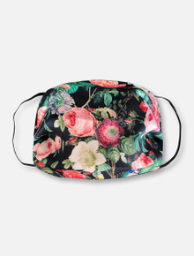 Elegant Flowers Face Mask