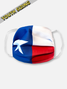 Texas Flag KIDS Face Mask