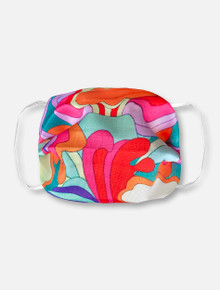 Groovy Abstract Face Mask