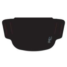 NBA San Antonio Spurs Face Mask with Small Logo