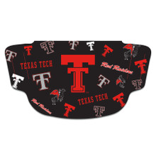 Texas Tech Red Raiders Face Mask with Throwback Double T and Vault Logo