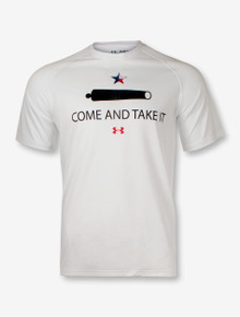 Under Armour Texas Tech Come & Take It White SALE T-Shirt