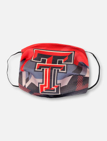 "Texas Tech Red Raiders Face Mask with Double T ""Raise the Bar"""