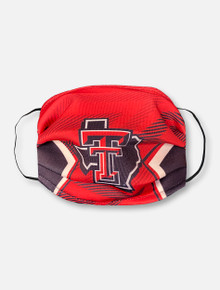 "Texas Tech Red Raiders Face Mask with Pride Logo ""Sideline Pride"""