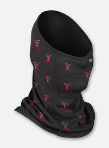 "Texas Tech Red Raiders ""Neck Gaiter"" with Repeating Double T Face Mask"