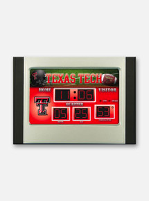 Texas Tech Red Raiders Scoreboard Alarm Clock