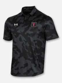 "Texas Tech Red Raiders Under Armour ""Athlete"" Polo in Black Camo"