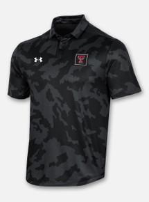 "Texas Tech Red Raiders Under Armour ""Athlete"" Polo in Black Camo"
