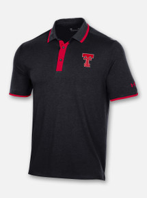 """Texas Tech Red Raiders Under Armour """"Traditions"""" Throwback Gameday Polo"""
