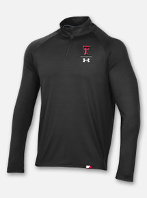"Texas Tech Red Raiders Under Armour ""I-Formation"" Lightweight 1/4 Zip Black"
