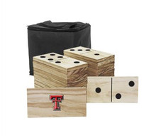 Texas Tech Red Raiders Yard Dominoes