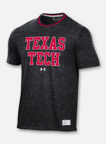 "Texas Tech Red Raiders Under Armour ""Lateral"" Gameday Ringer Short Sleeve T-Shirt"