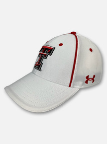 "Texas Tech Red Raiders Under Armour ""2020 Sideline"" Blitzing Stretch Fit Hat"