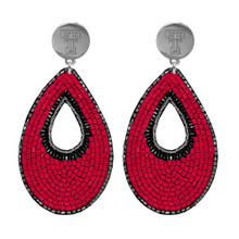 Emerson Street Double T Beaded Teardrop Earrings