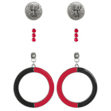 Emerson Street Double T- Multiple Earring sets