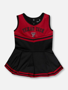 """Arena Texas Tech Red Raiders """"Pinky"""" INFANT Cheer Onesie 2020"""