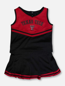 """Arena Texas Tech Red Raiders """"Pinky"""" YOUTH Cheer Set 2020"""