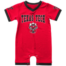 """Arena Texas Tech Raider Red """"Barnacle Boy"""" INFANT Romper"""
