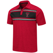 """Arena Texas Tech Red Raiders Double T """"Doppelganger"""" Polo"""