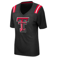 "Arena Texas Tech Red Raiders Double T ""Rock Paper Scissors"" V-Neck T-shirt"