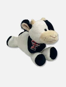 Texas Tech Red Raiders Cow Plush Toy with Double T T-Shirt