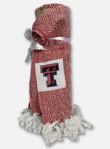 Texas Tech Red Raiders Farmhouse Throw Blanket
