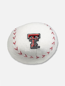 Texas Tech Red Raiders Stuffed Baseball with Double T