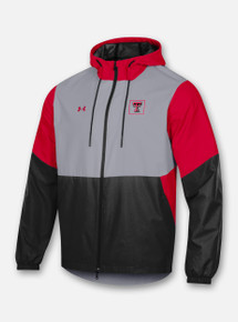 Front Profile Texas Tech Red Raiders Under Armour Men's Sideline Fieldhouse Jacket