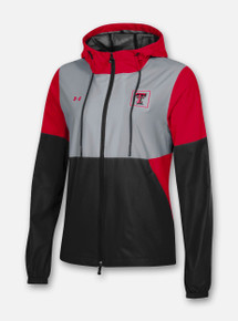 Front Profile Texas Tech Red Raiders Under Armour Women's Sideline Fieldhouse Jacket