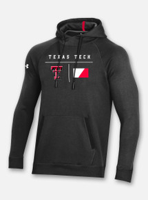 "Texas Tech Red Raiders Under Armour Sideline 2020 ""Campus"" Fleece Hood in Black"
