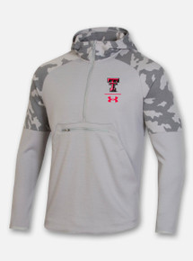 "Texas Tech Red Raiders Under Armour Men's Sideline 2020 ""Qualifier"" Fleece Anorak"