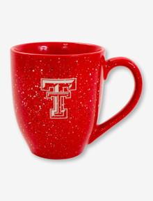 Texas Tech Double T on Speckled Coffee Mug