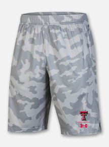 "Texas Tech Red Raiders Under Armour Youth Sideline ""Locker Room"" Shorts"