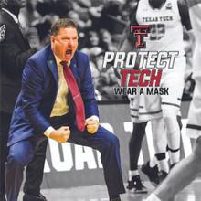 "Texas Tech Red Raiders Facemask ""Hulk Wants Championships"""