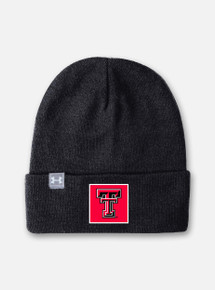 Front View Texas Tech Red Raiders Under Armour Truckstop Beanie