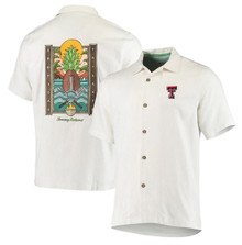 Texas Tech Red Raiders Tommy Bahama Sport Tropical Tailgate Silk Button Down
