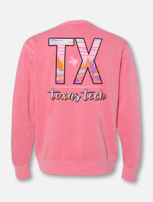 """Texas Tech Red Raiders """"Canyon Sunset"""" Crew Pullover"""