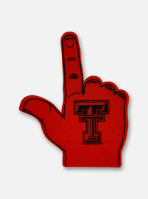 Texas Tech Foam Guns Up Hand