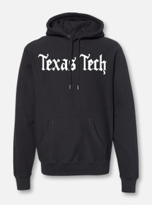 "Texas Tech Red Raiders Old English Font ""Konyay"" Hoodie"