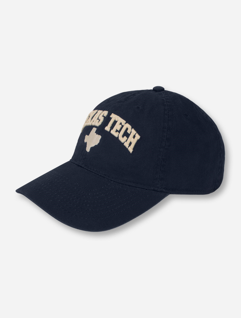 6874392b39f Legacy Texas Tech Arch Over Texas Silhouette Adjustable Cap - Red Raiders