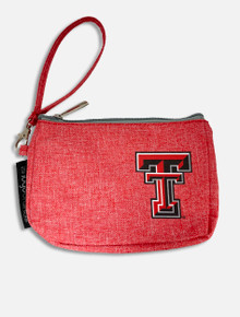 Texas Tech Red Raiders Double T Crosshatch Wristlet
