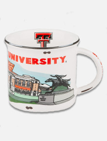 Texas Tech Red Raiders Landmark Campfire Mug