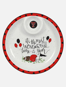 "Texas Tech Red Raiders Melamine ""Best Time of the Year""Chip and Dip"